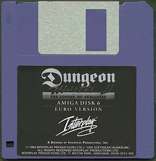 Dungeon Master II for Amiga Disk 6