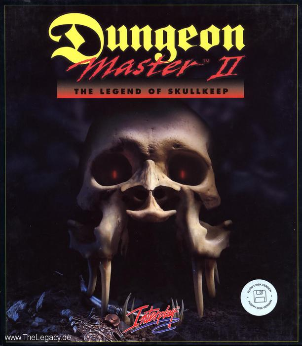 Dungeon Master II for Amiga (German) - Box Front