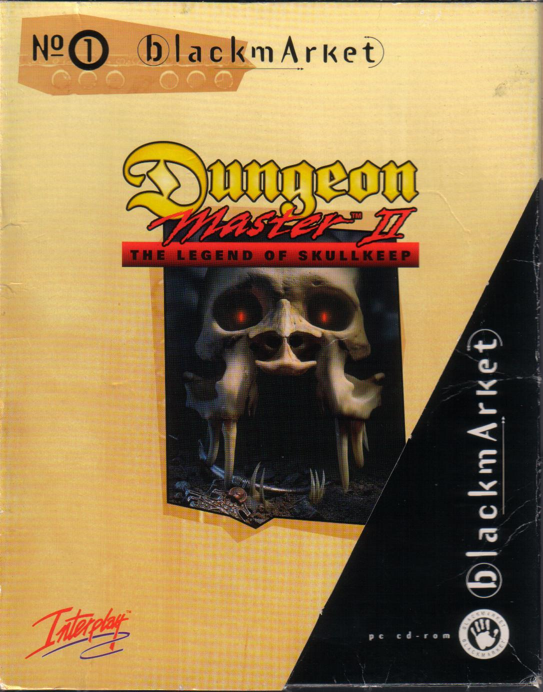 Dungeon Master II for PC (Blackmarket) - Box Front