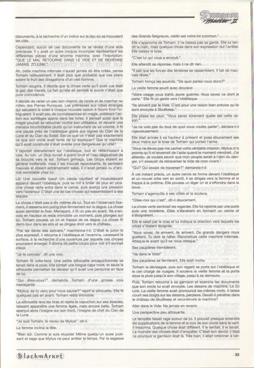 Dungeon Master II for PC (Blackmarket) Manual - Page 33