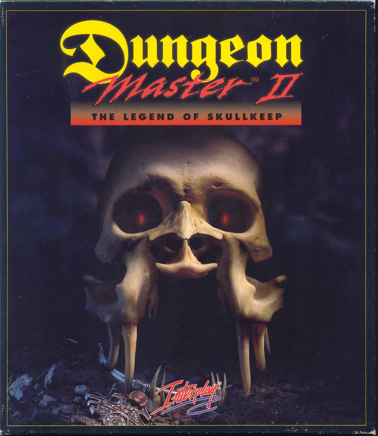 Dungeon Master II for PC - Box Front (Alternate)