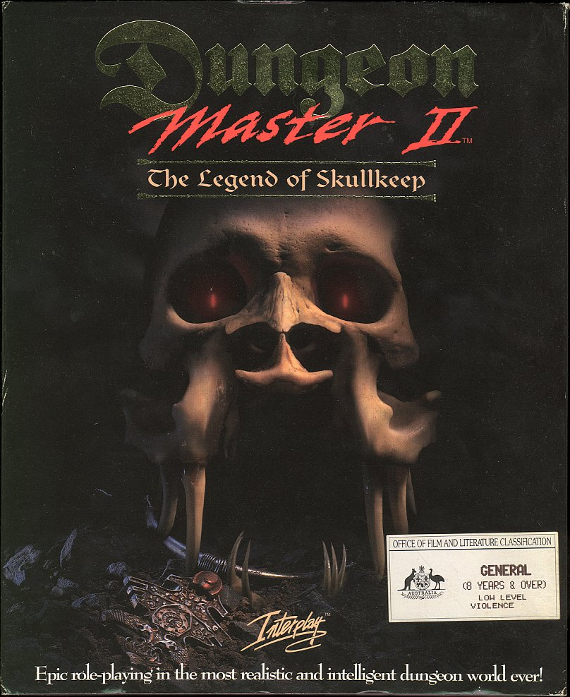 Dungeon Master II for PC - Box Front