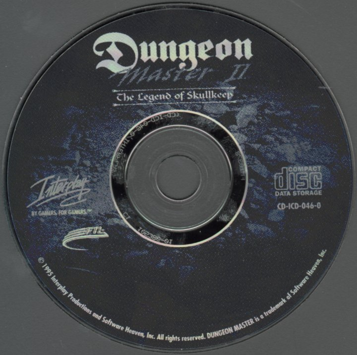 Dungeon Master II for PC - CD