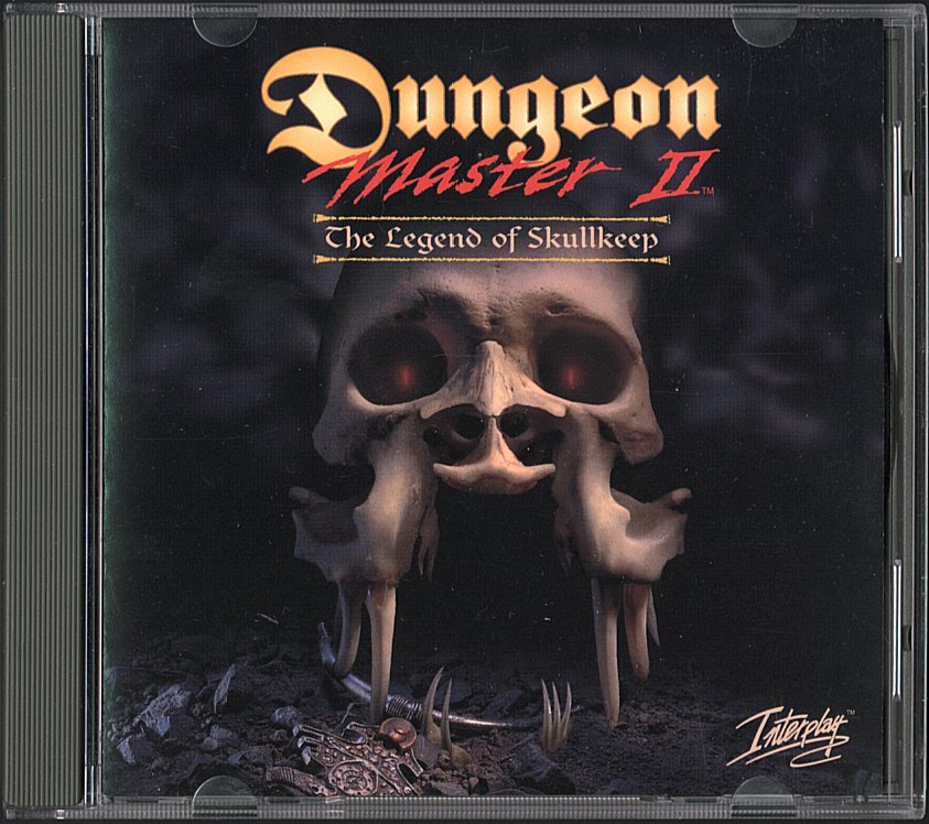 Dungeon Master II for PC - CD Box Front