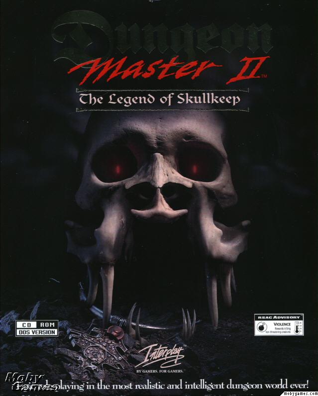 Dungeon Master II for PC (English, CD) - Box Front