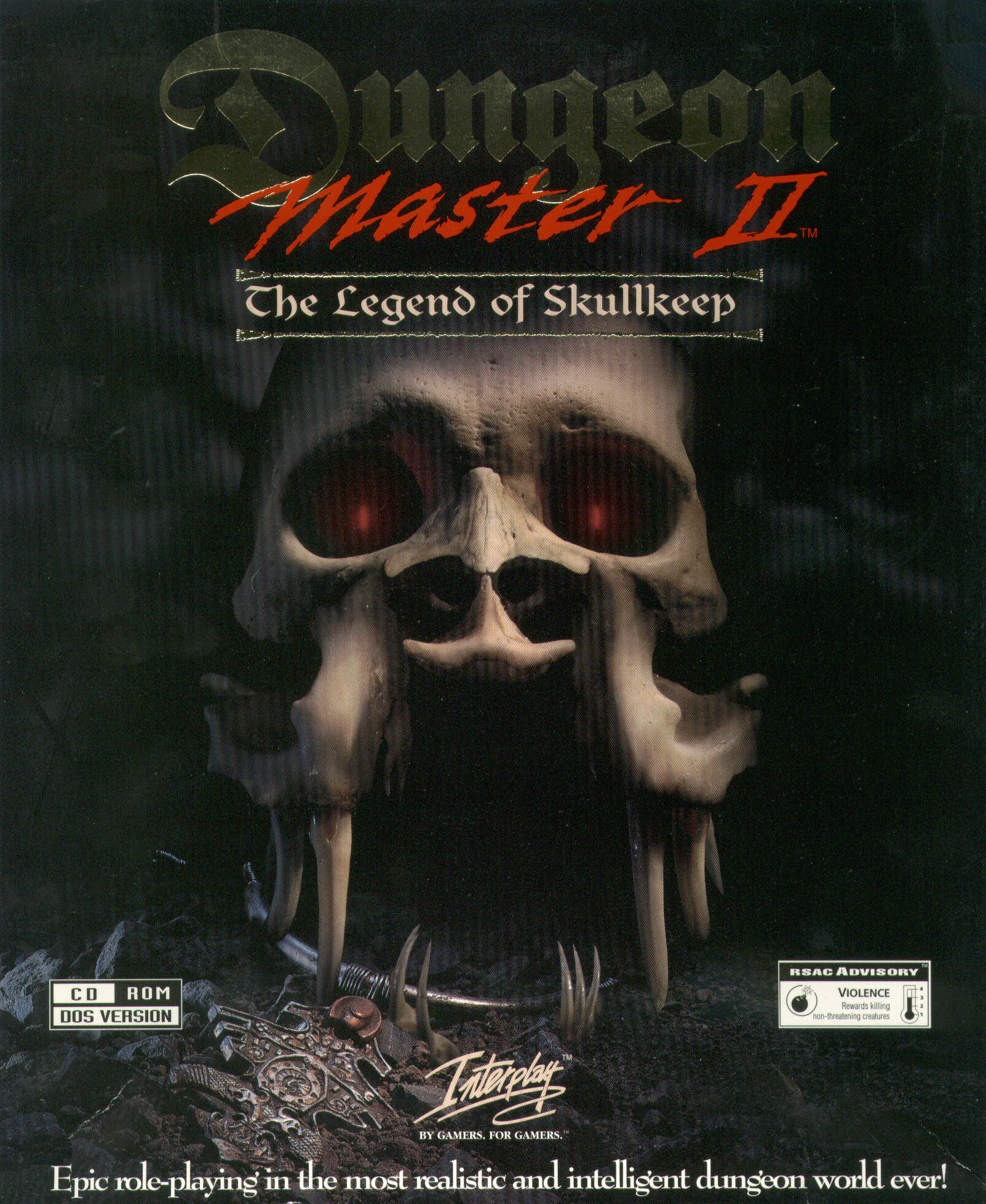 Dungeon Master II for PC (English, CD) - Outer Box Front
