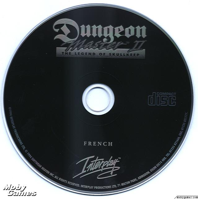 Dungeon Master II for PC (French, CD) - CD