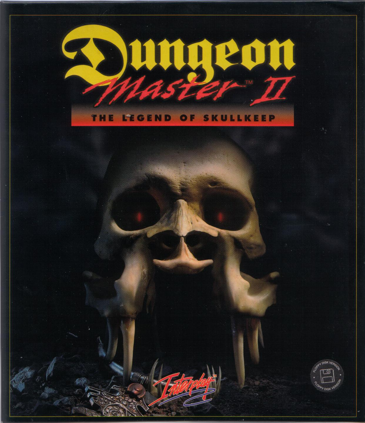 Dungeon Master II for PC (French, Floppy) - Box Front