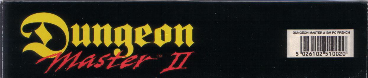 Dungeon Master II for PC (French, Floppy) - Box Side Bottom