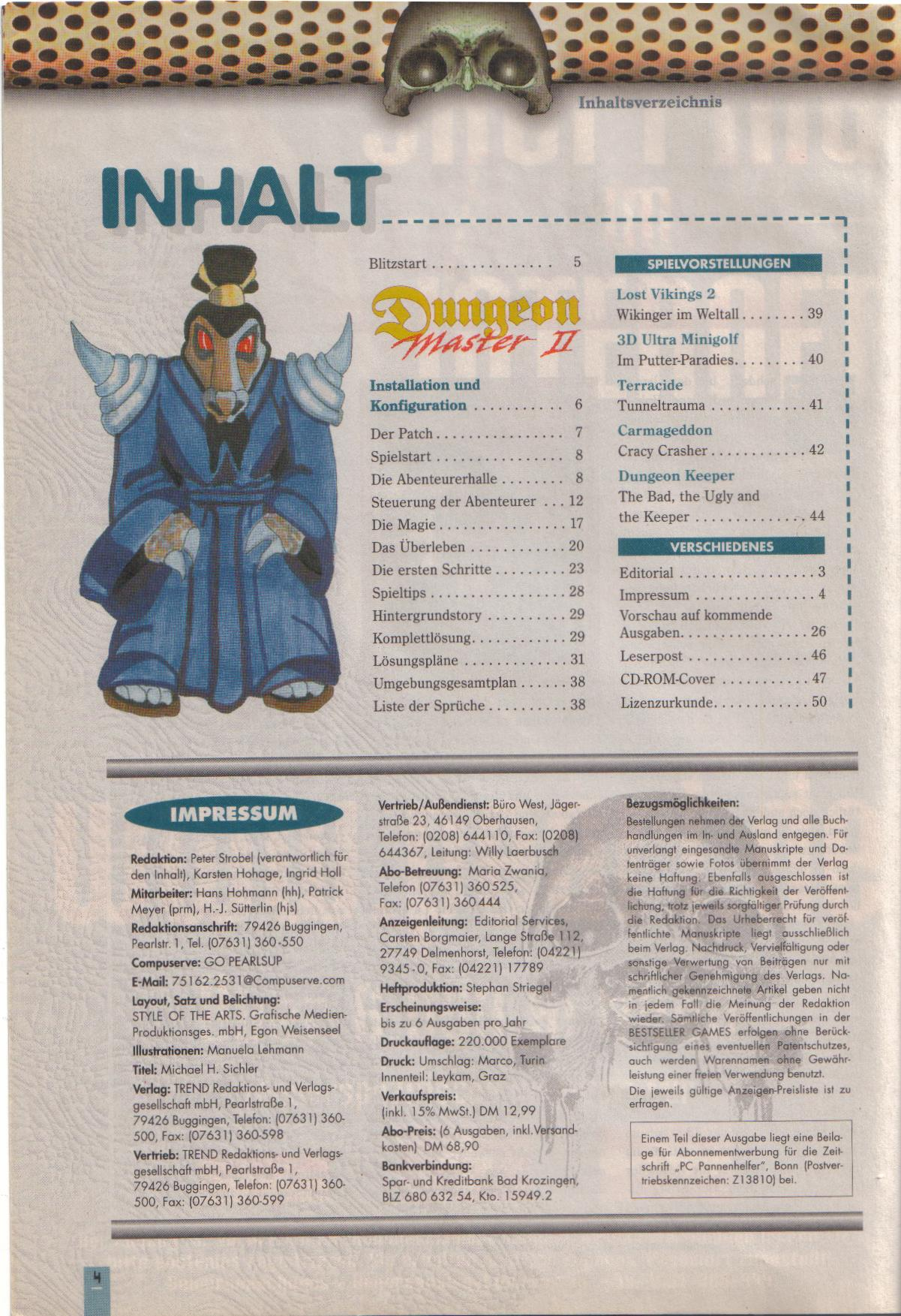 Dungeon Master II for PC (German, Best Seller Games) Page 4