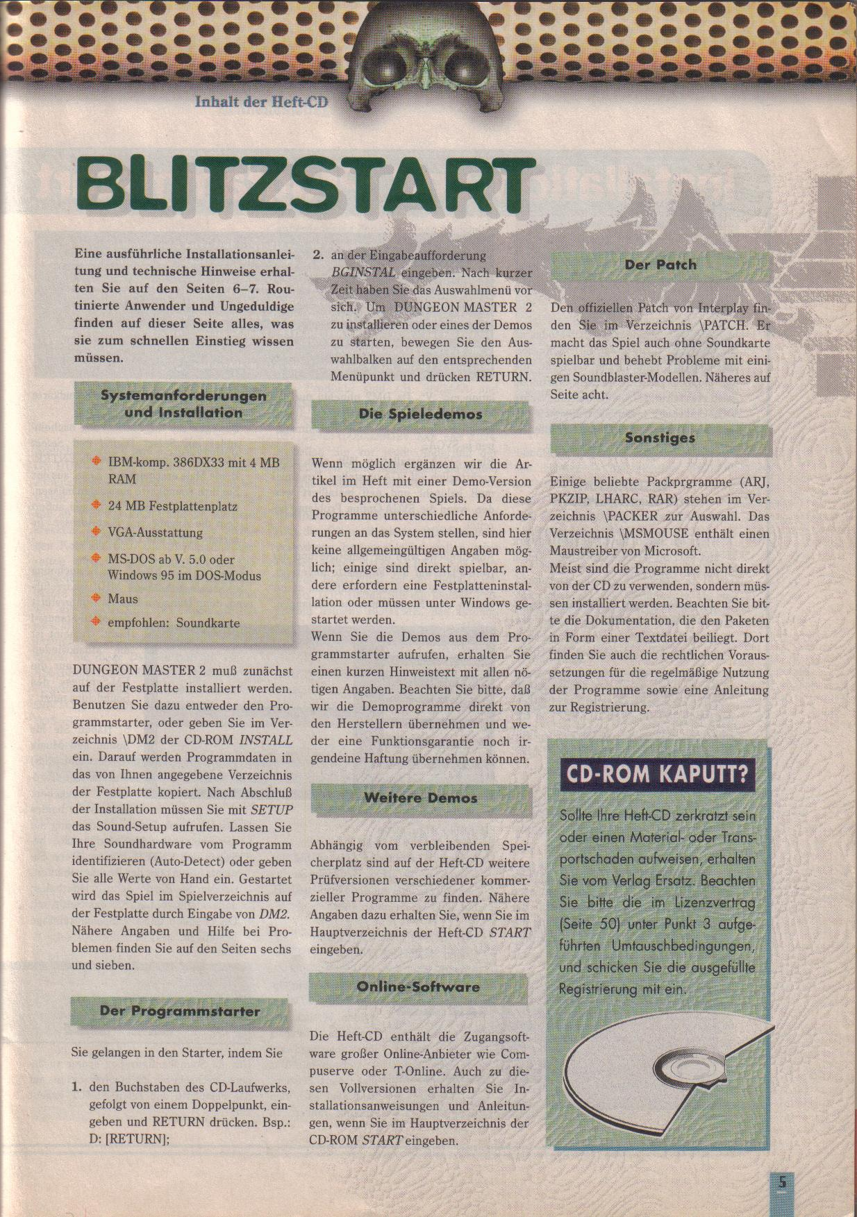 Dungeon Master II for PC (German, Best Seller Games) Page 5