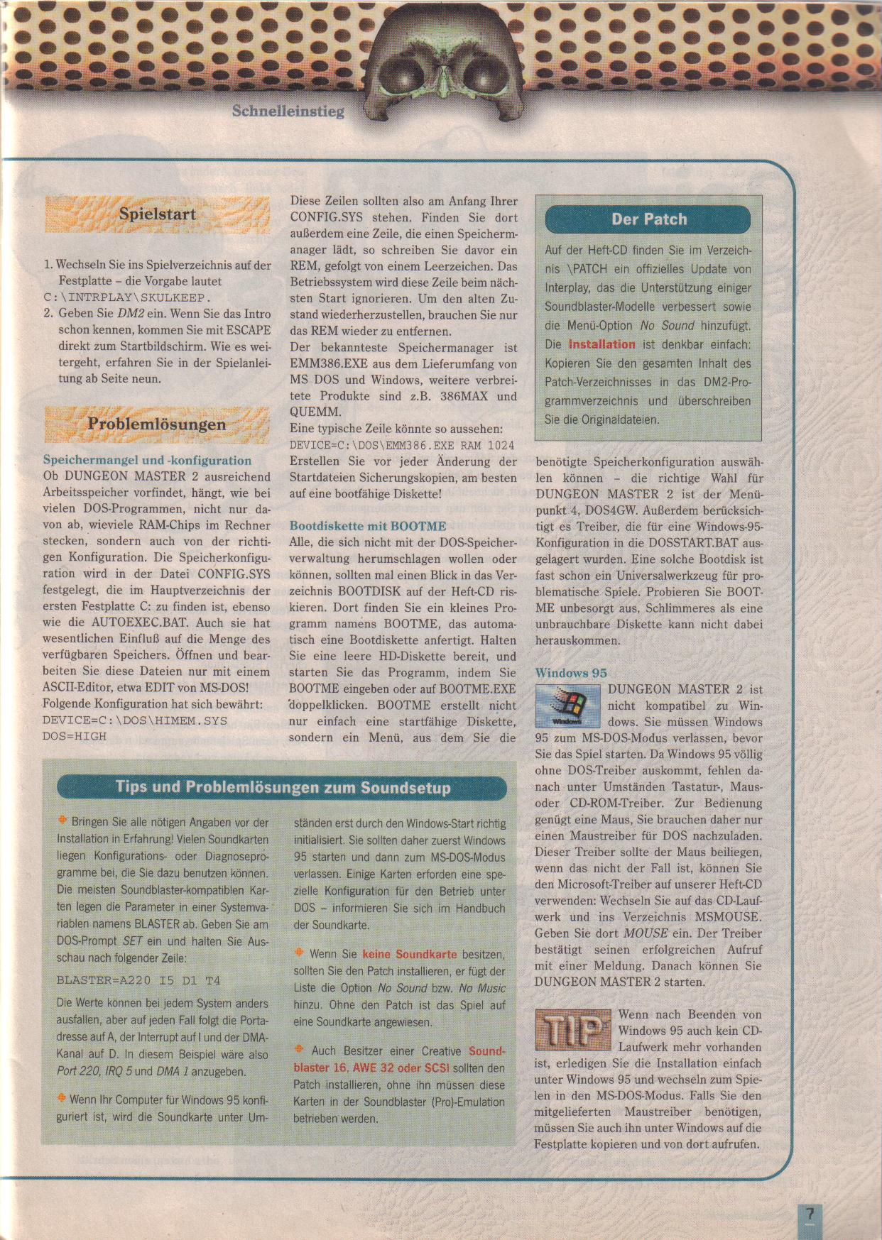 Dungeon Master II for PC (German, Best Seller Games) Page 7