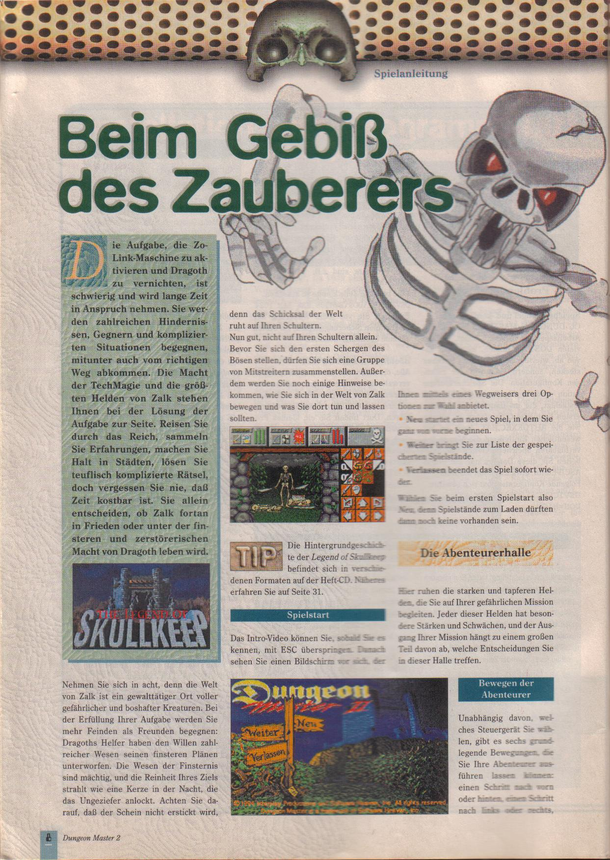 Dungeon Master II for PC (German, Best Seller Games) Page 8