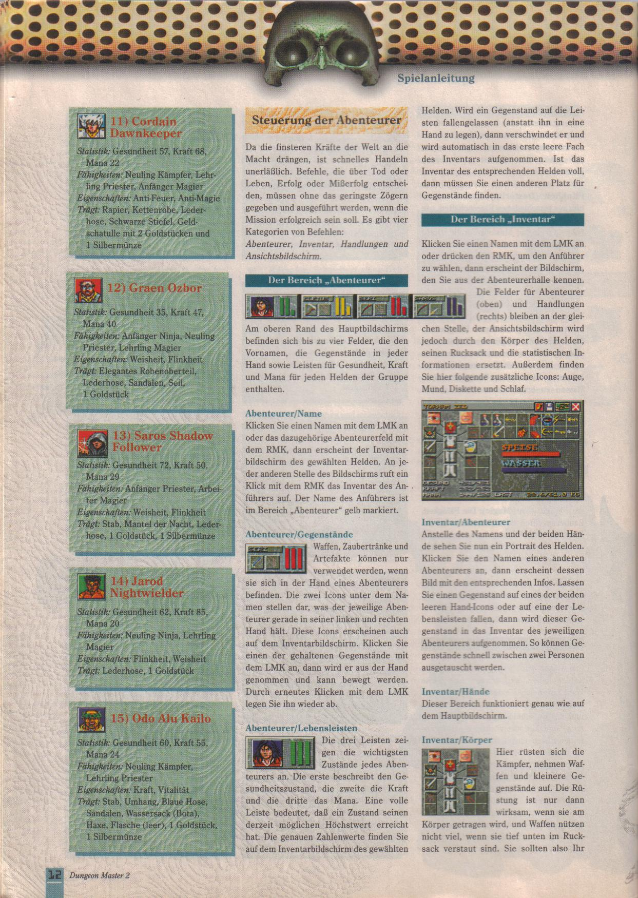 Dungeon Master II for PC (German, Best Seller Games) Page 12