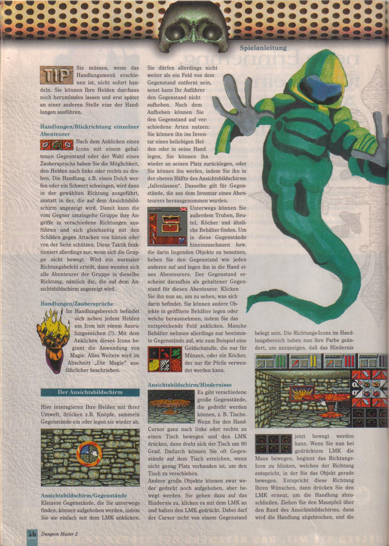 Dungeon Master II for PC (German, Best Seller Games) Page 16