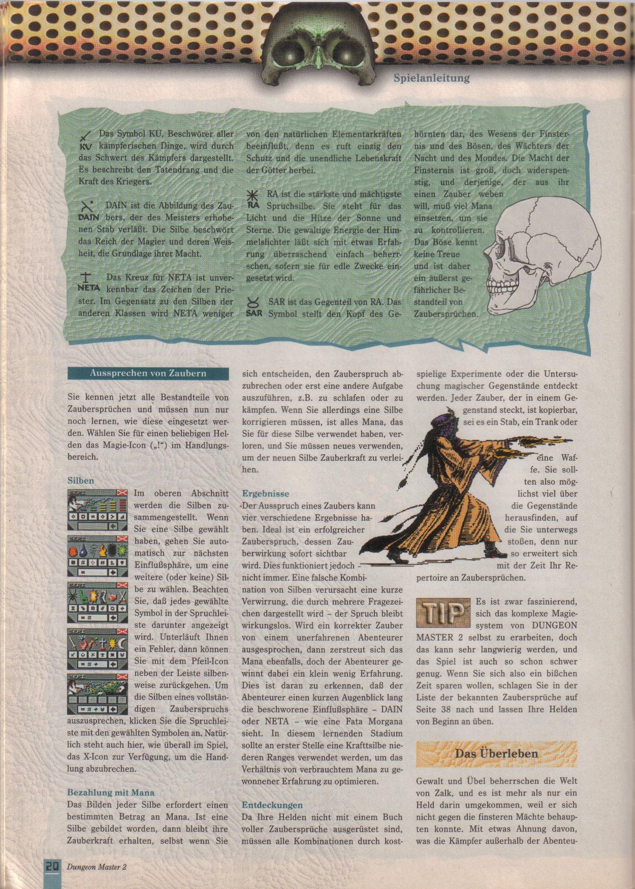 Dungeon Master II for PC (German, Best Seller Games) Page 20