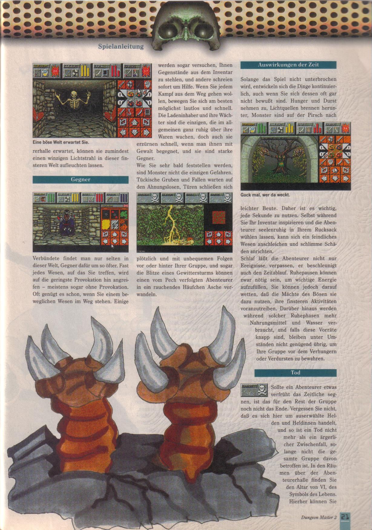 Dungeon Master II for PC (German, Best Seller Games) Page 21