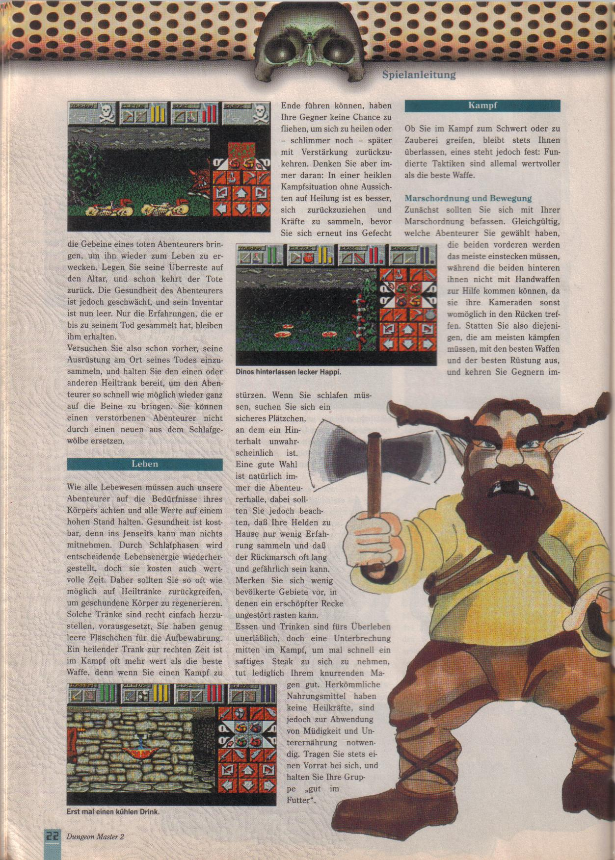Dungeon Master II for PC (German, Best Seller Games) Page 22