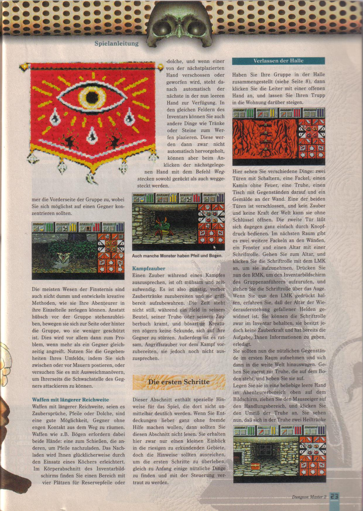 Dungeon Master II for PC (German, Best Seller Games) Page 23