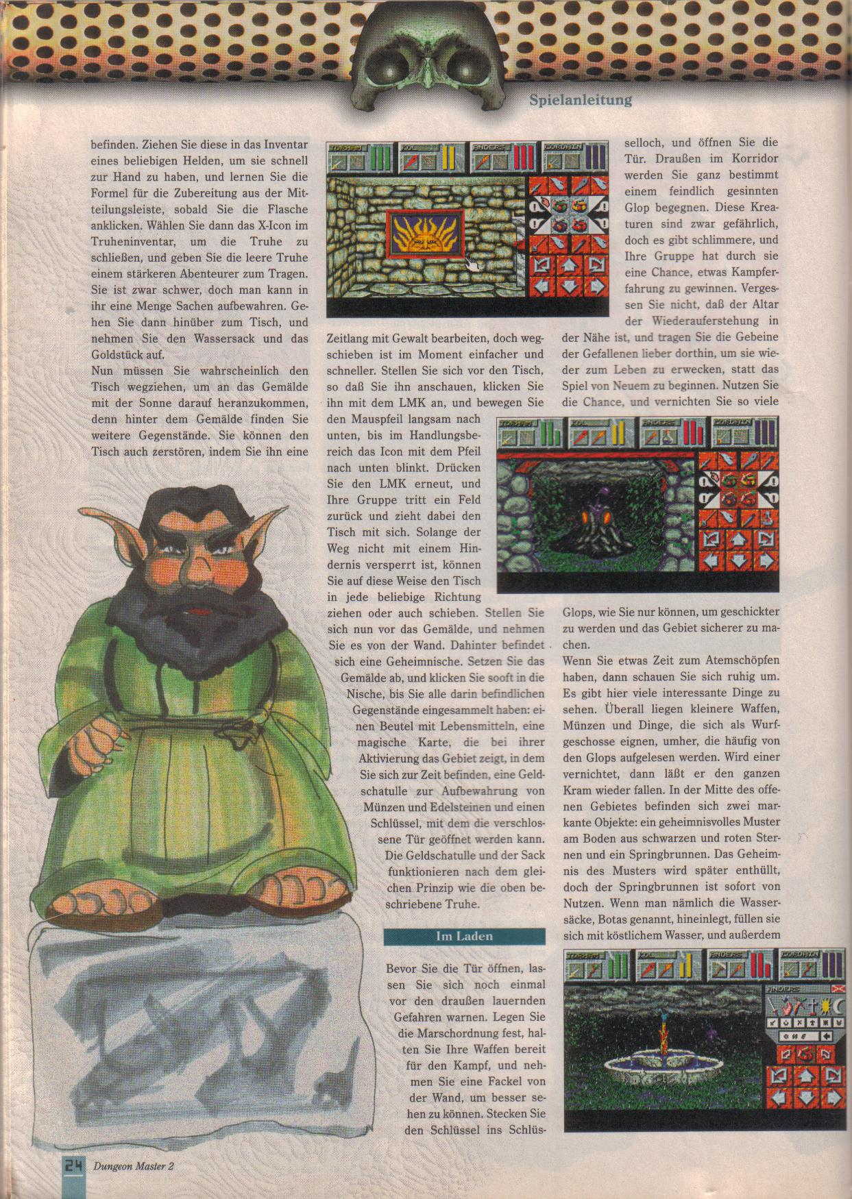 Dungeon Master II for PC (German, Best Seller Games) Page 24