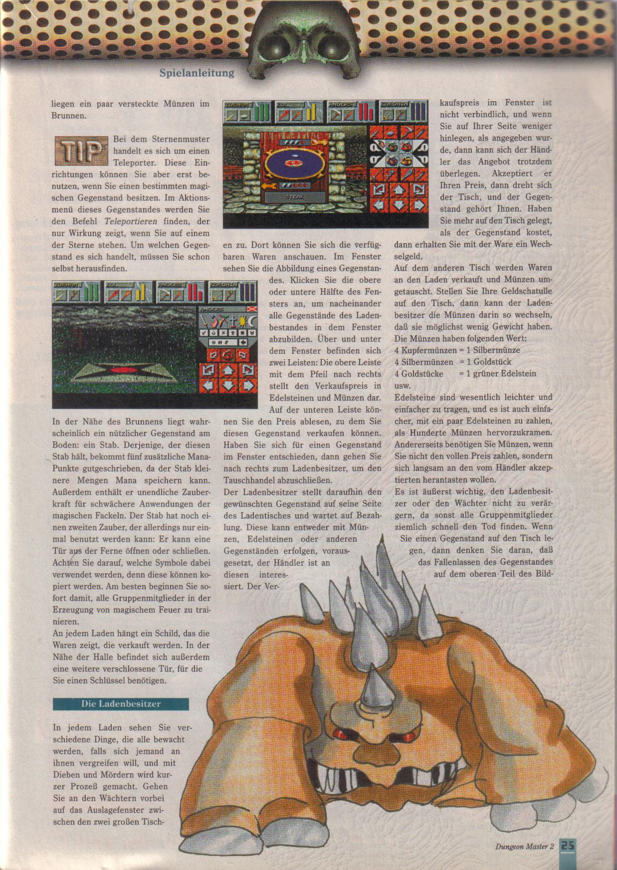 Dungeon Master II for PC (German, Best Seller Games) Page 25