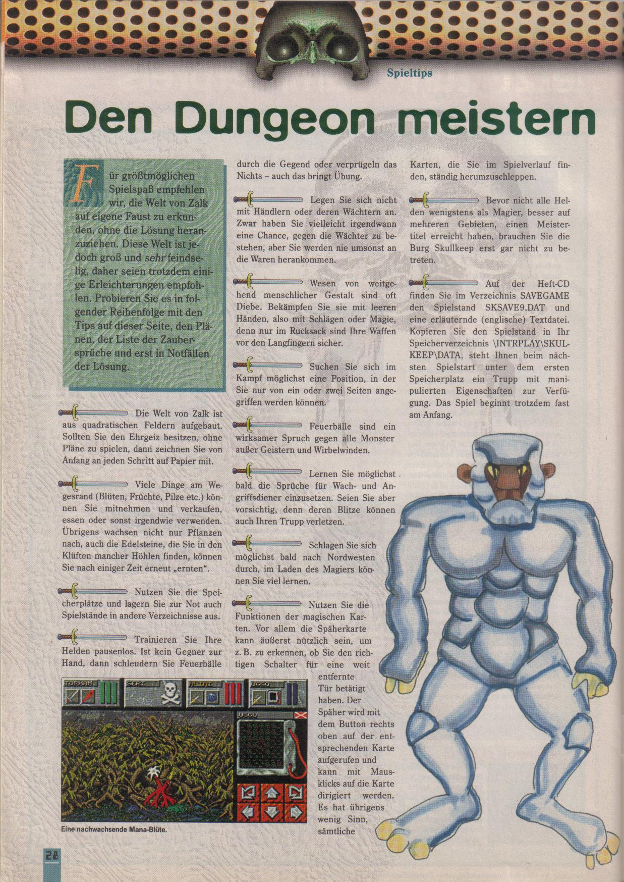 Dungeon Master II for PC (German, Best Seller Games) Page 28