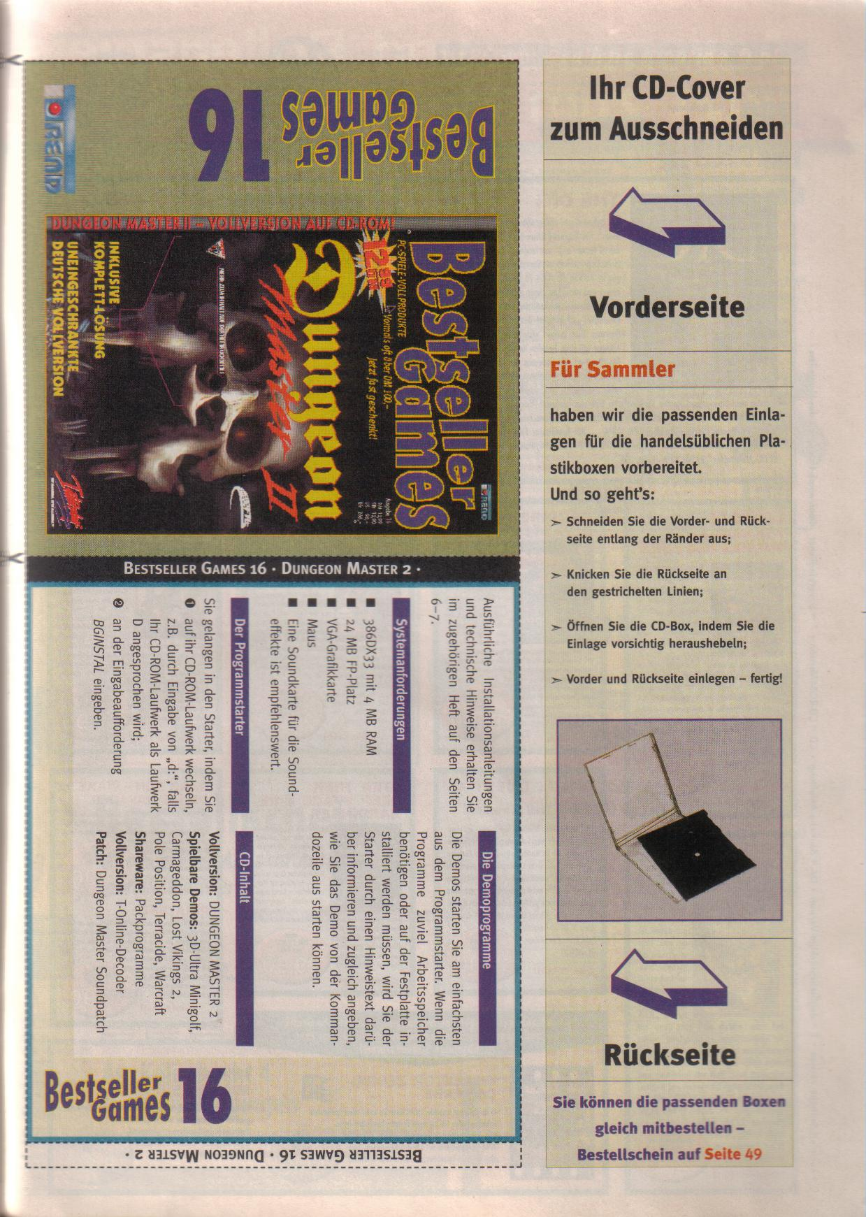 Dungeon Master II for PC (German, Best Seller Games) Page 47