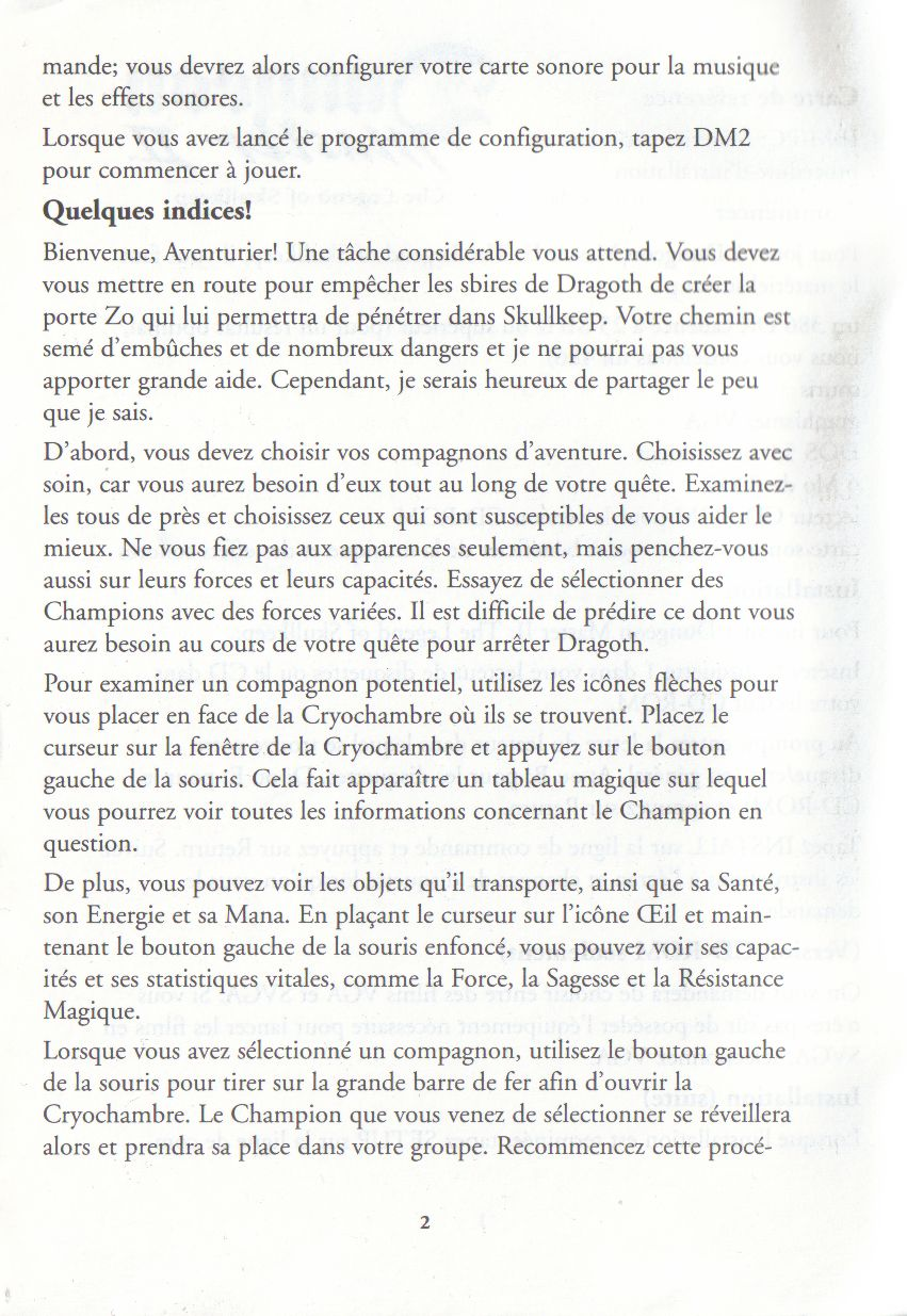 Page 2 (French)