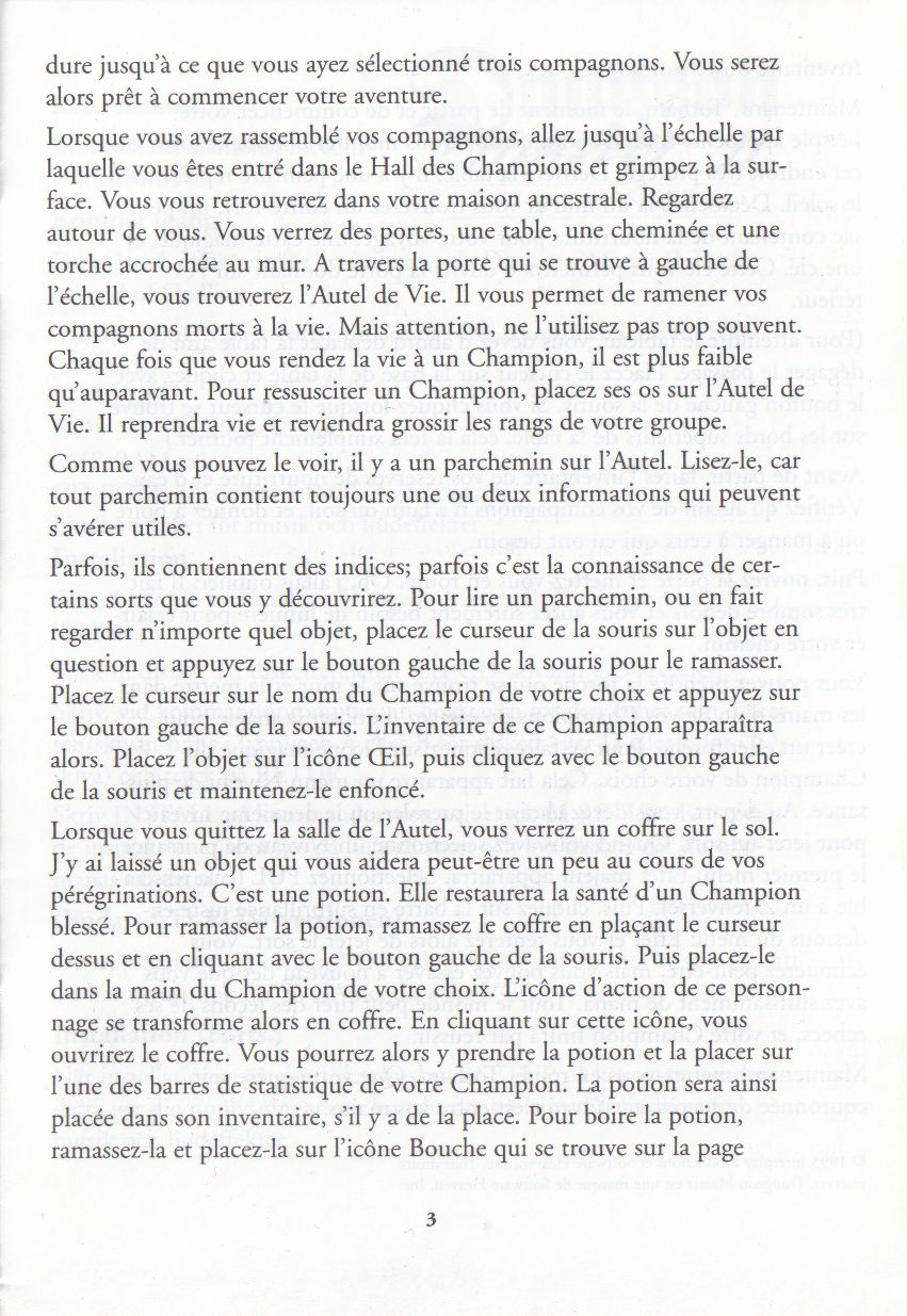 Page 3 (French)