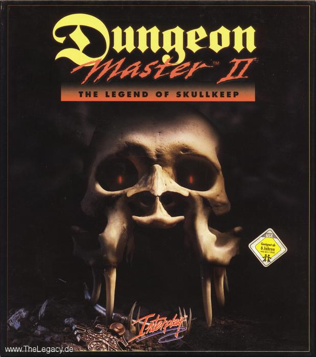 Dungeon Master II for PC (German, CD) - Box Front