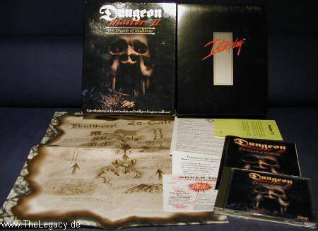 Dungeon Master II for PC (US, CD) - Packaging