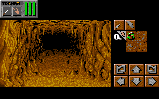 Dungeon Master II for FM-Towns Screenshot - In game