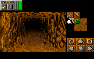 Dungeon Master II for IBM PS/V Screenshot - In game