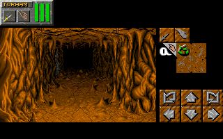 Dungeon Master II for Macintosh Screenshot - In game (Compact Layout)