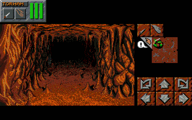 Dungeon Master II for PC-9801 Screenshot - In game