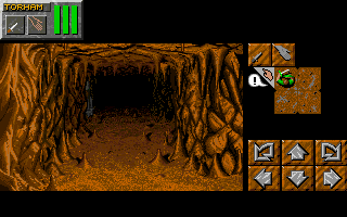 Dungeon Master II for PC-9821 Screenshot - In game
