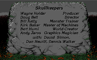 Dungeon Master II for Sega CD Screenshot - Credits