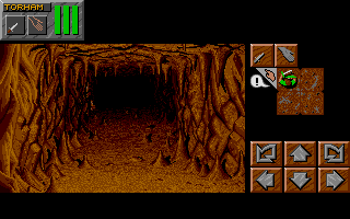 Dungeon Master II for Sega CD Screenshot - In game