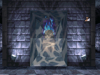 Dungeon Master Nexus for Sega Saturn Screenshot - Champion Mirror