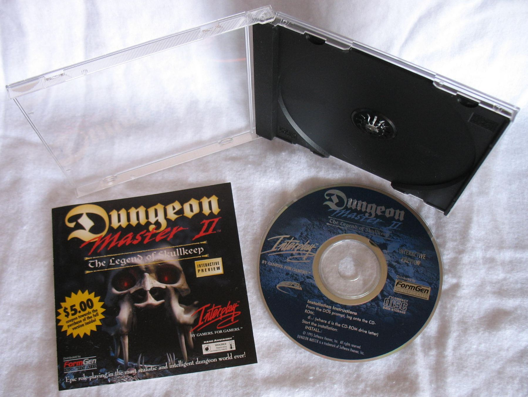 Demo - Dungeon Master II - US - PC - All - Overview - Photo
