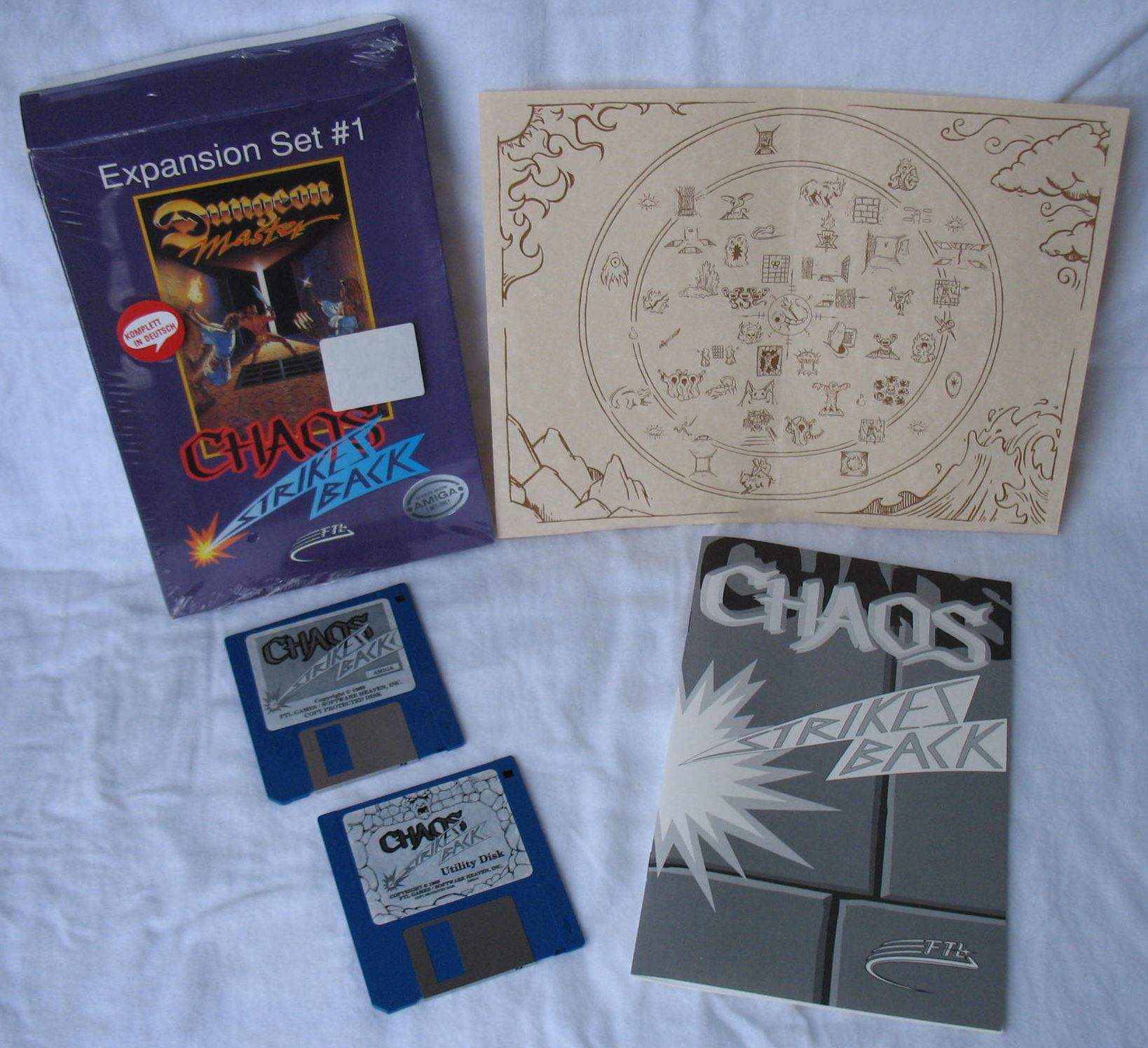 Game - Chaos Strikes Back - DE - Amiga - All - Overview - Photo