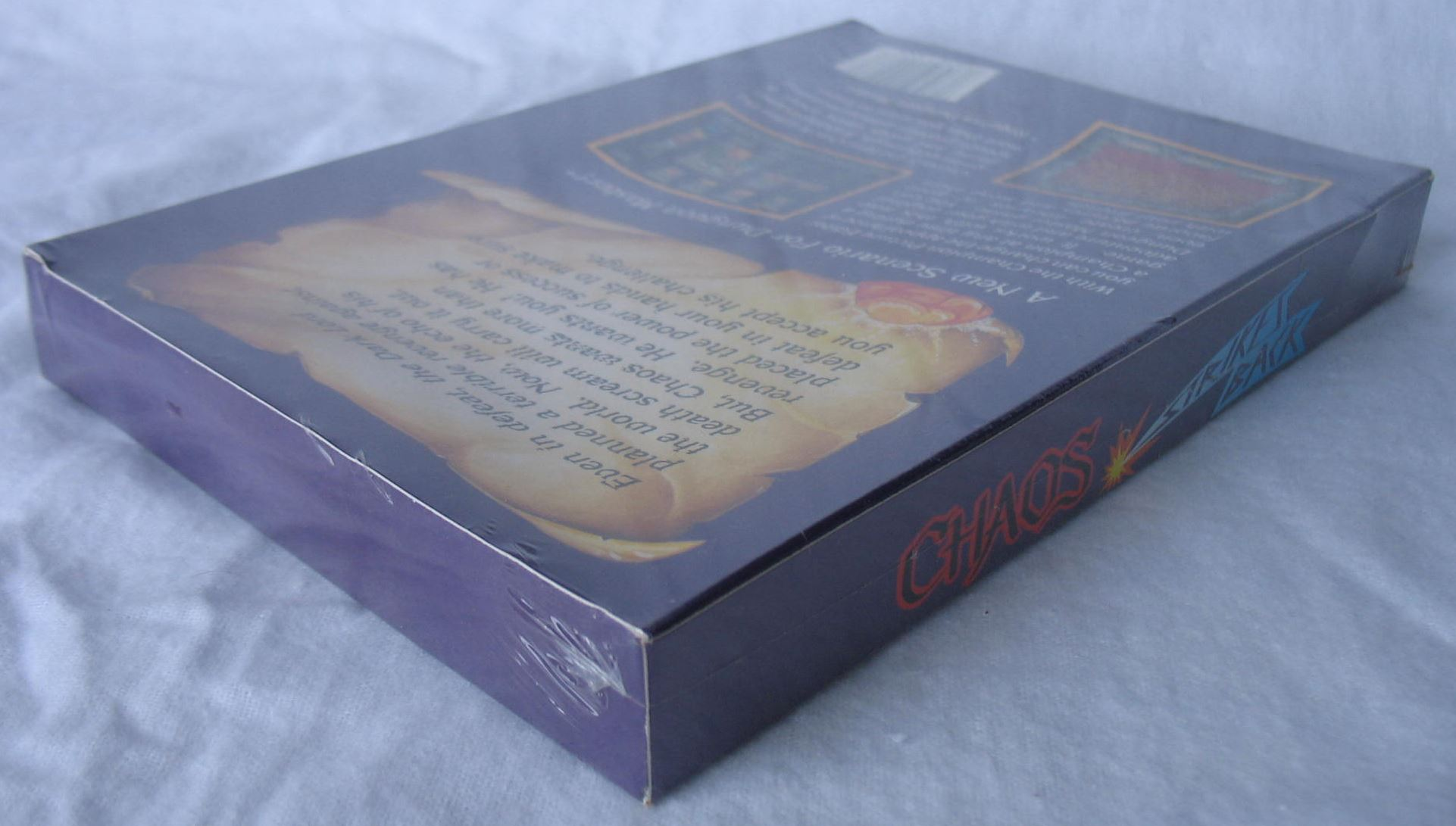Game - Chaos Strikes Back - DE - Amiga - Box - Back Right Top - Photo