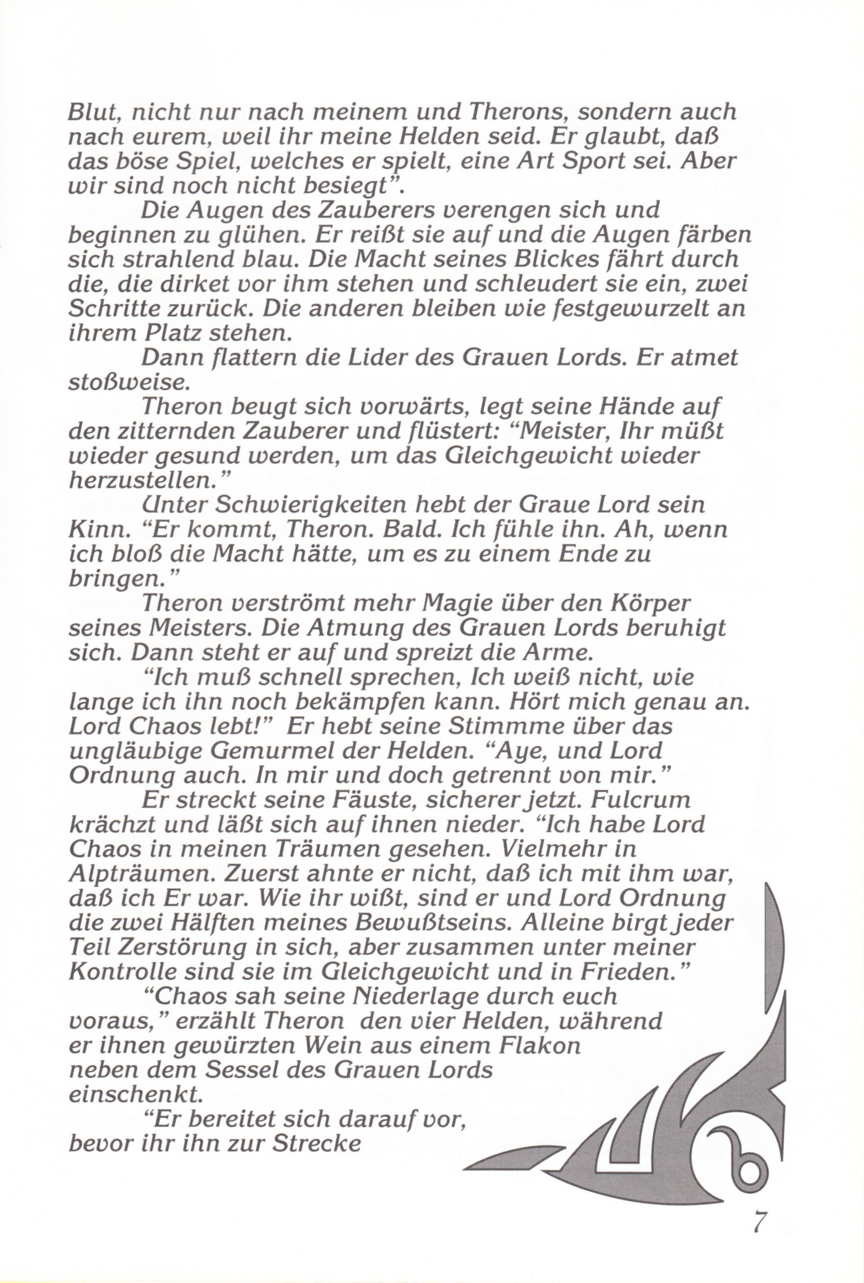 Game - Chaos Strikes Back - DE - Amiga - Manual - Page 009 - Scan