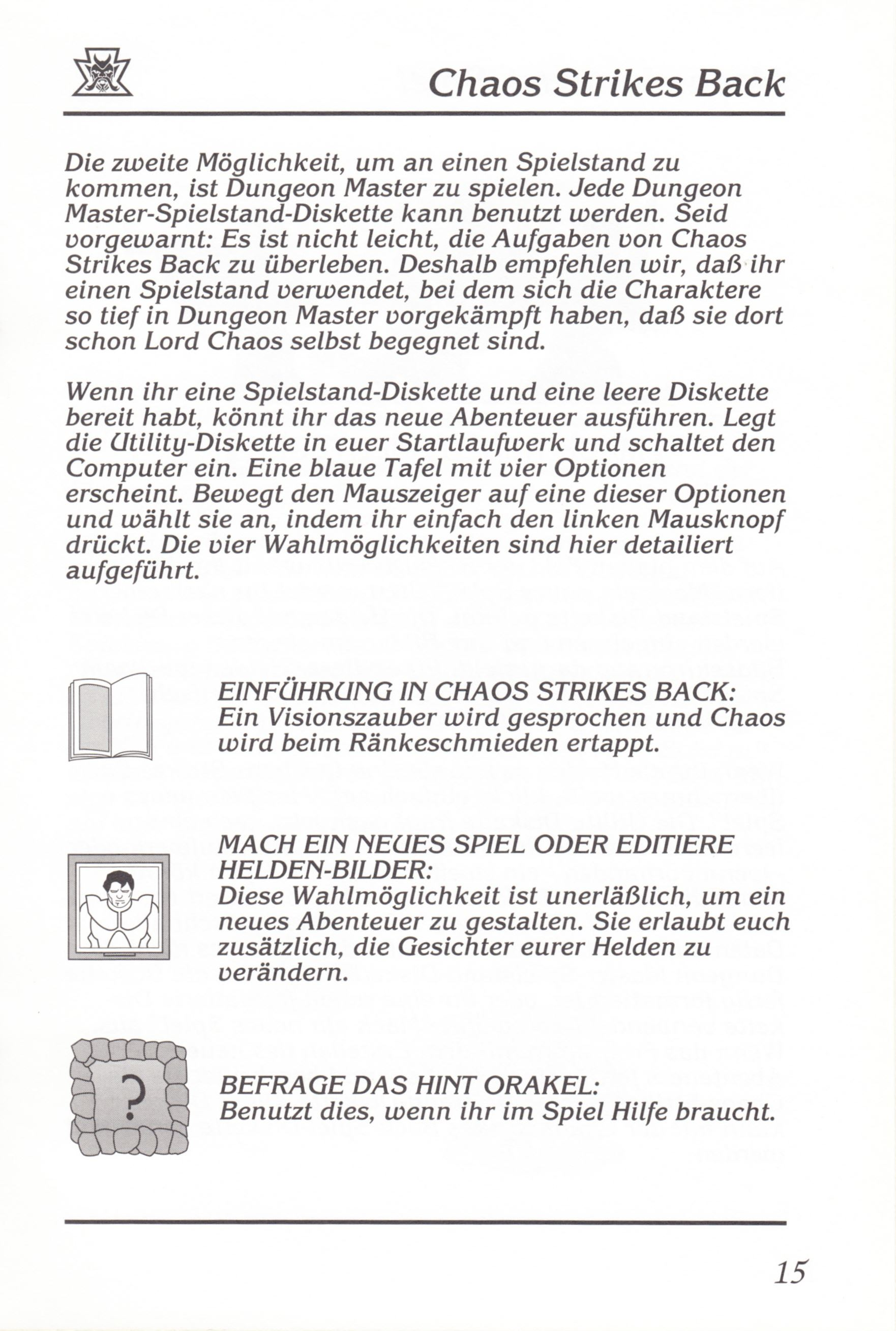 Game - Chaos Strikes Back - DE - Amiga - Manual - Page 017 - Scan