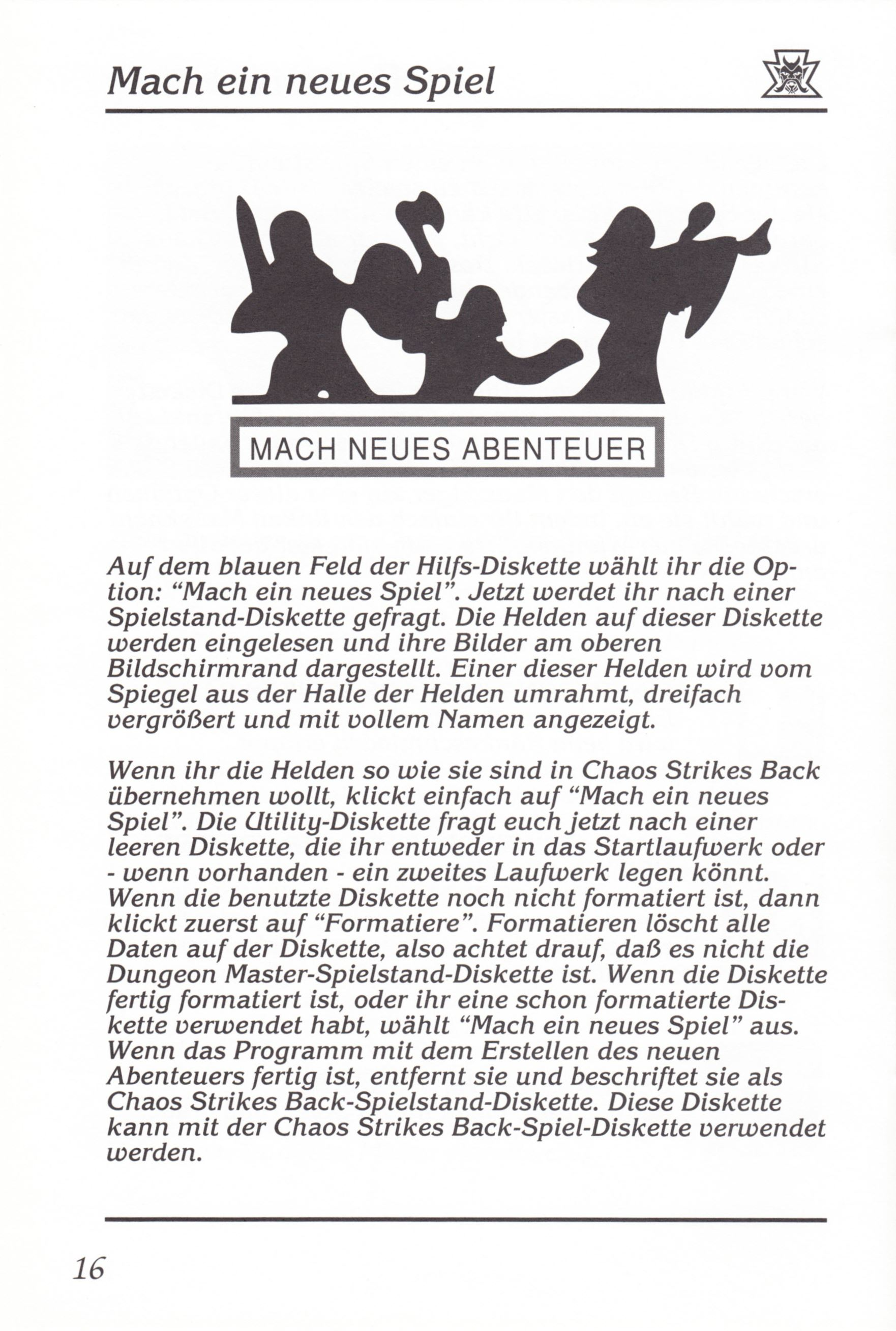 Game - Chaos Strikes Back - DE - Amiga - Manual - Page 018 - Scan