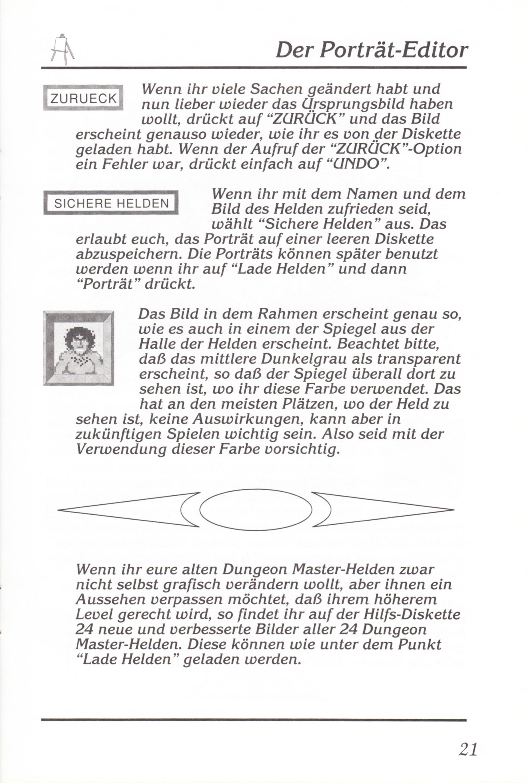 Game - Chaos Strikes Back - DE - Amiga - Manual - Page 023 - Scan