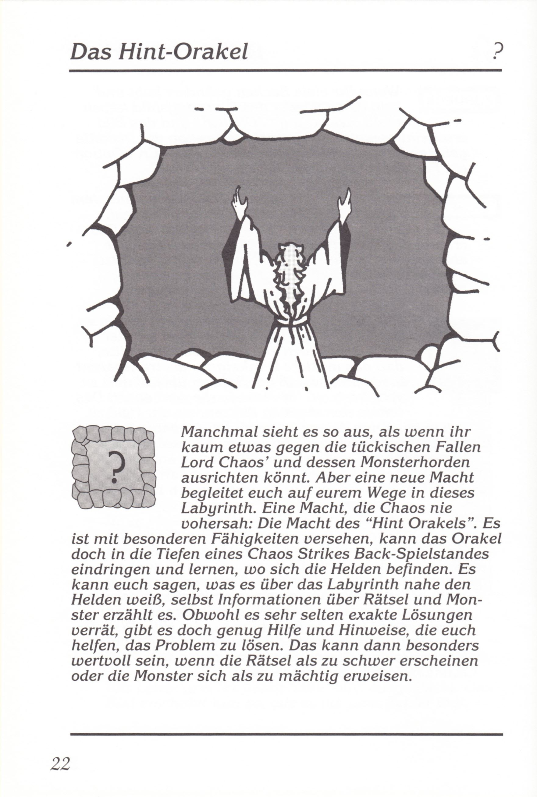 Game - Chaos Strikes Back - DE - Amiga - Manual - Page 024 - Scan