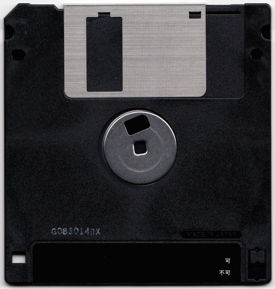 Game - Chaos Strikes Back - JP - PC-9801 - 3.5-inch - Save Disk - Back - Scan