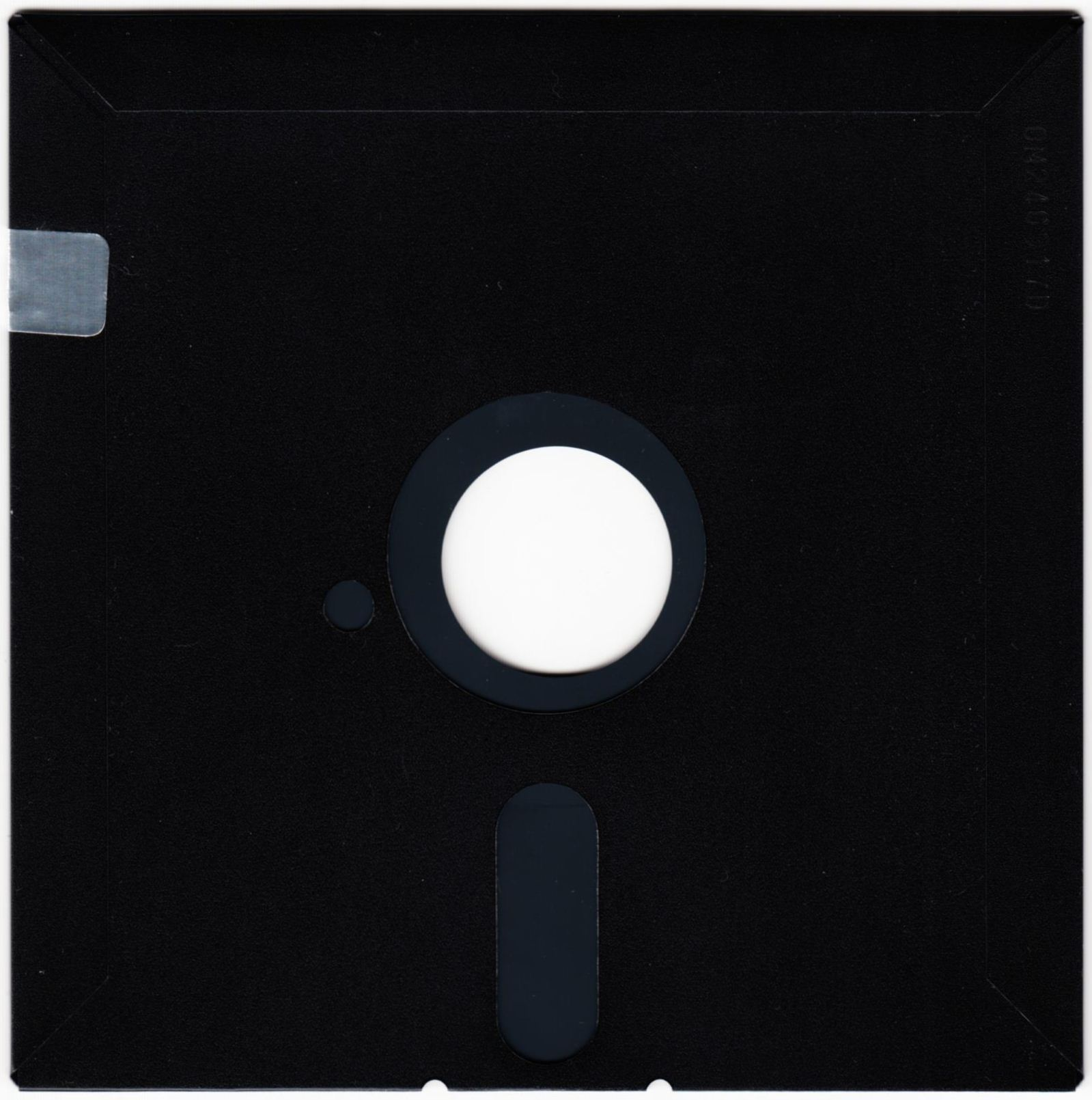 Game - Chaos Strikes Back - JP - PC-9801 - 5.25-inch - Game Disk - Back - Scan