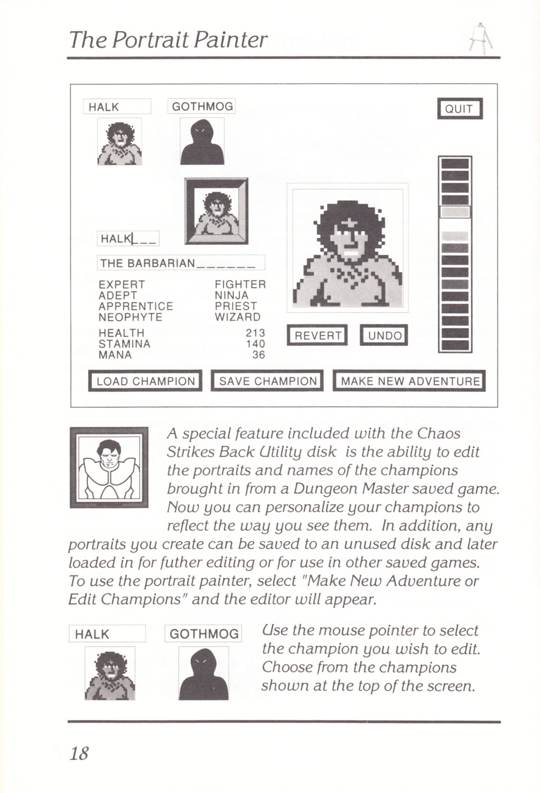 Game - Chaos Strikes Back - UK - Amiga - Manual - Page 020 - Scan